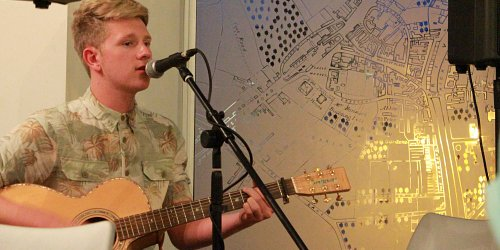 Another successful Acoustic Café for Youth Takeover
