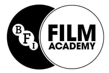 BFI Film Academy Programme for 16-19s - Paradigm Arts