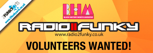 BHM Radio2Funky Volunteers Wanted!