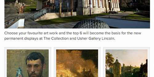 Vote for The Collection & Usher Gallery rehang